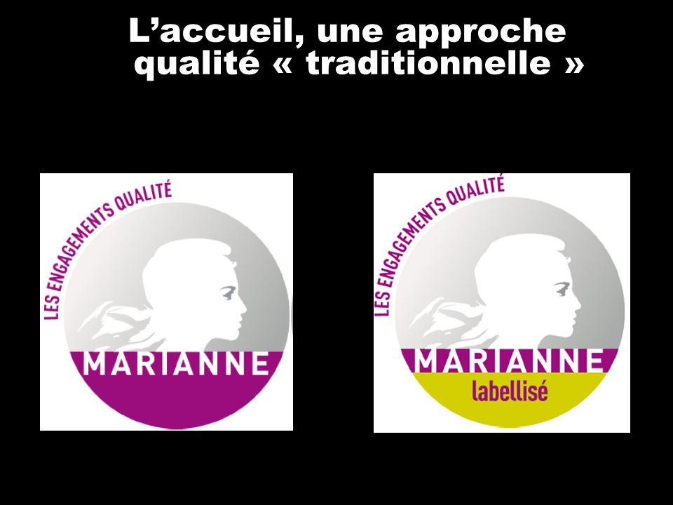 Laccueil, une approche qualité « traditionnelle »