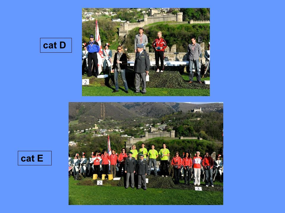 cat D cat E