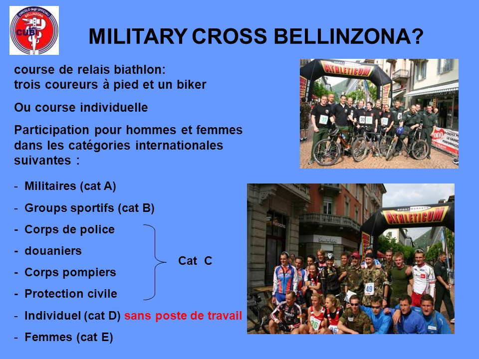 MILITARY CROSS BELLINZONA.