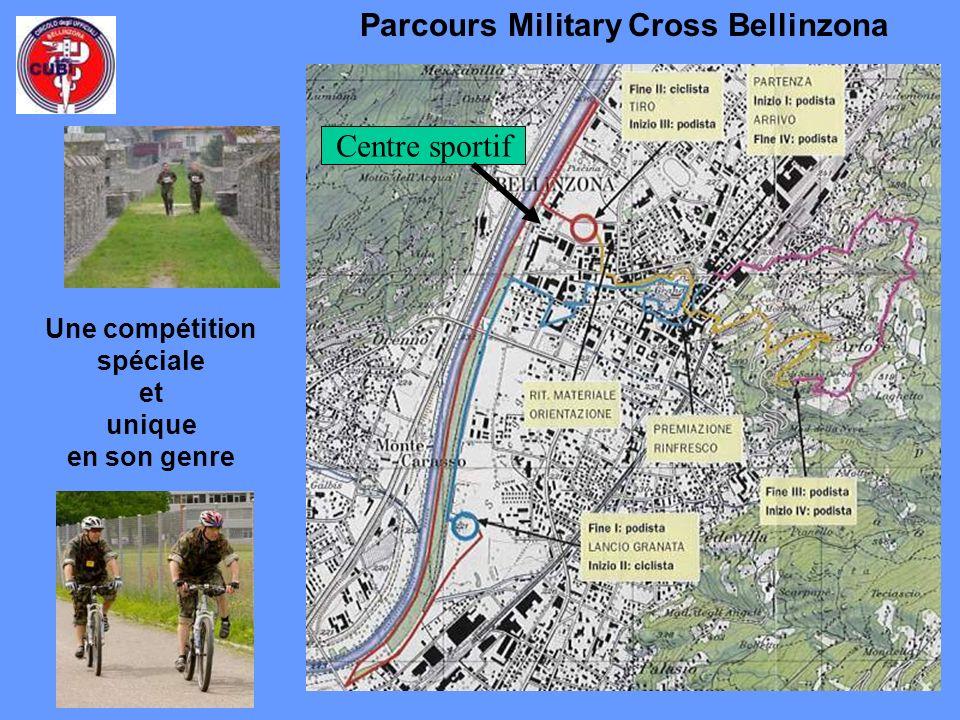 Parcours Military Cross Bellinzona Une compétition spéciale et unique en son genre Centre sportif
