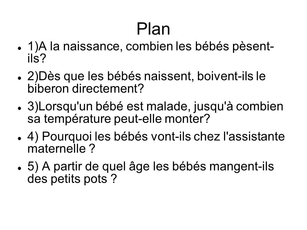 Plan 6)A partir de quel âge les bébés enlèvent-ils leurs couches.