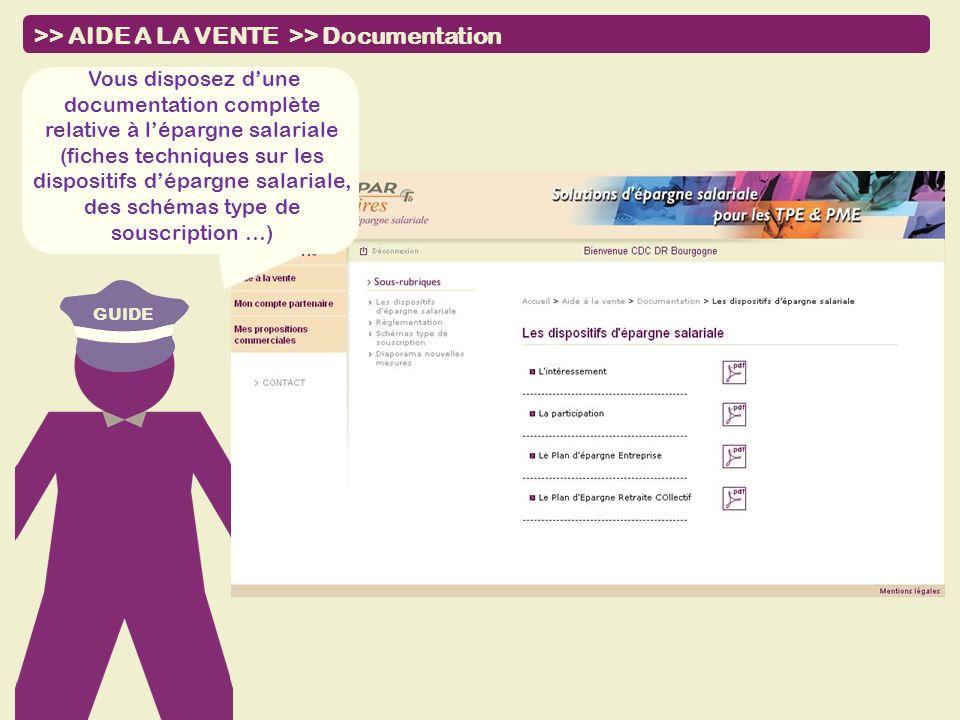 GUIDE Vous disposez dune documentation complète relative à lépargne salariale (fiches techniques sur les dispositifs dépargne salariale, des schémas t