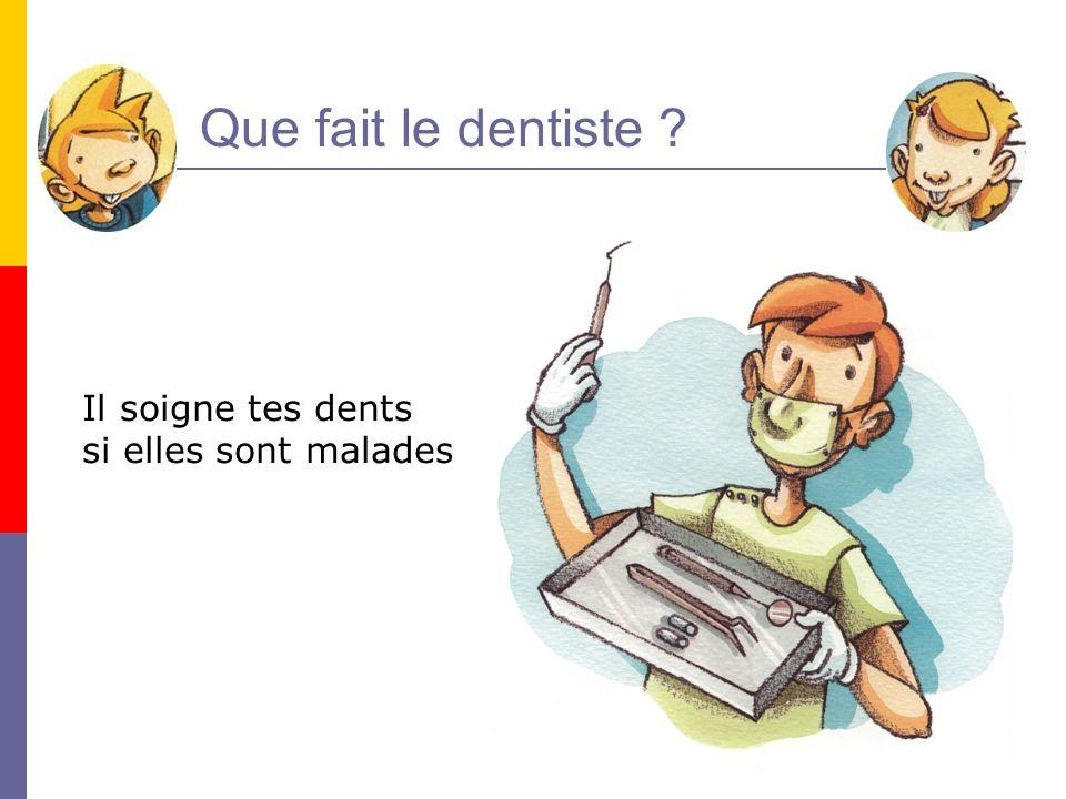 33 Et ce nest pas tout … Le dentiste protège aussi tes dents contre les attaques des microbes : cest le scellement de sillons