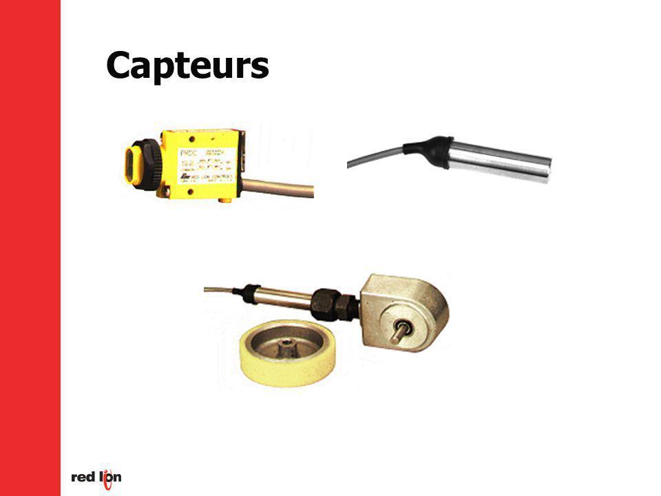 Capteurs