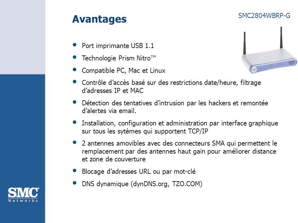 SMC2804WBRP-G Application