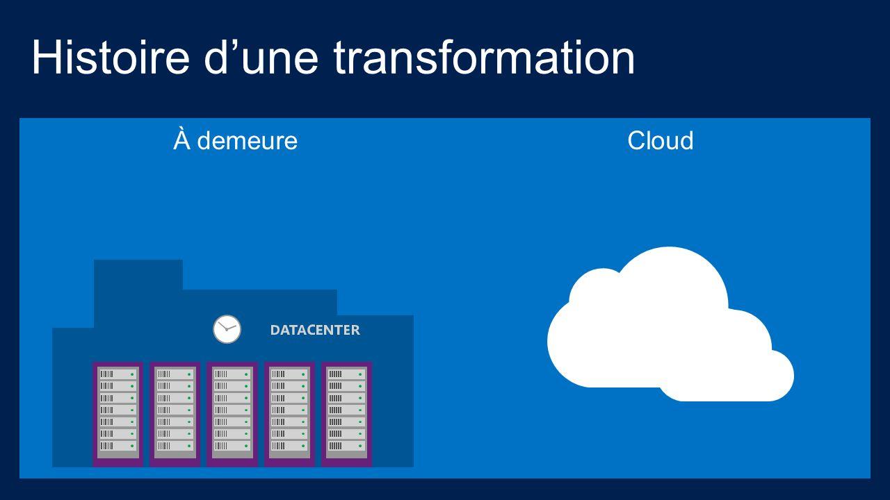 Cloud Histoire dune transformation À demeure