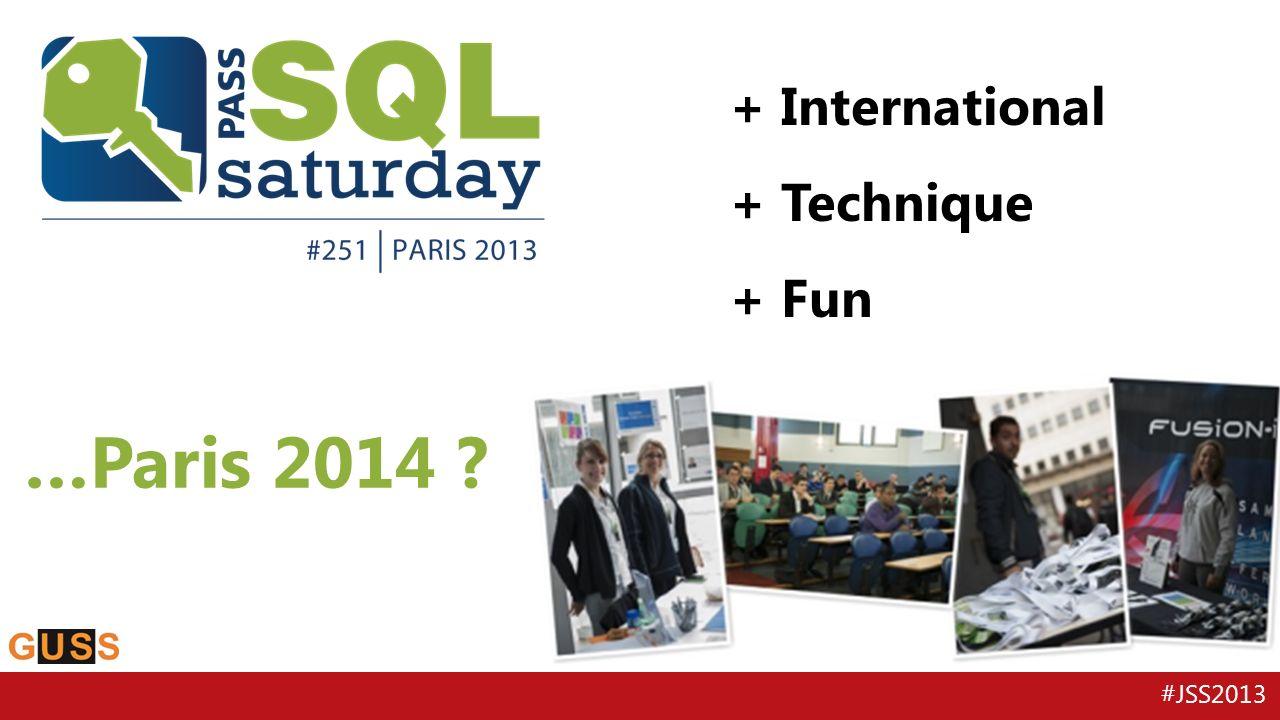 #JSS2013 40 sessions