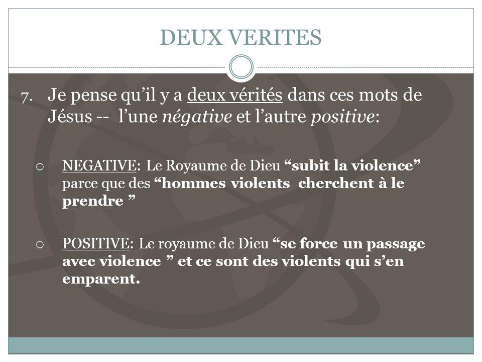 DEUX VERITES 7.