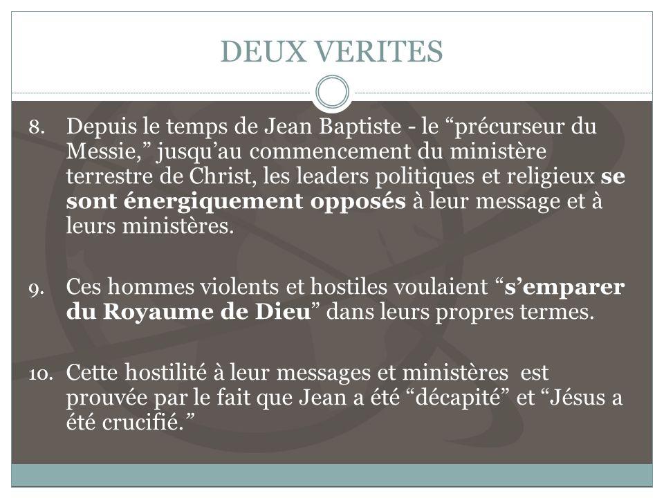 DEUX VERITES 8.