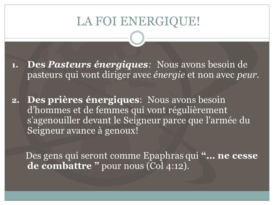 LA FOI ENERGIQUE.1.