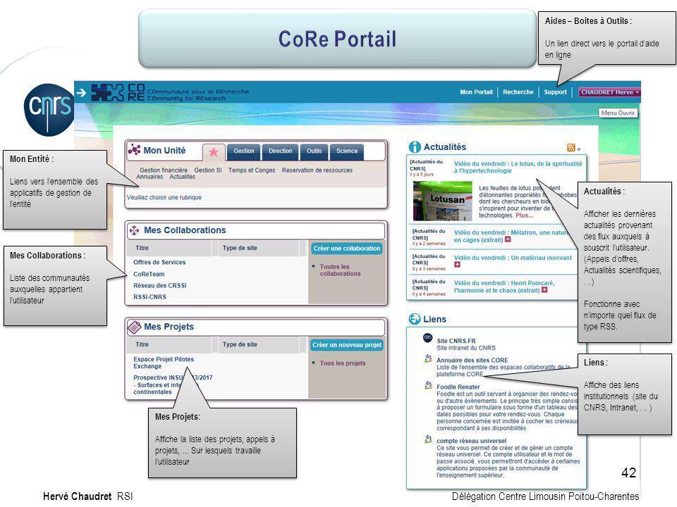 CoRe Portail : mon site Mon Entité : Liens vers lensemble des applicatifs de gestion de lentité Mon Entité : Liens vers lensemble des applicatifs de g