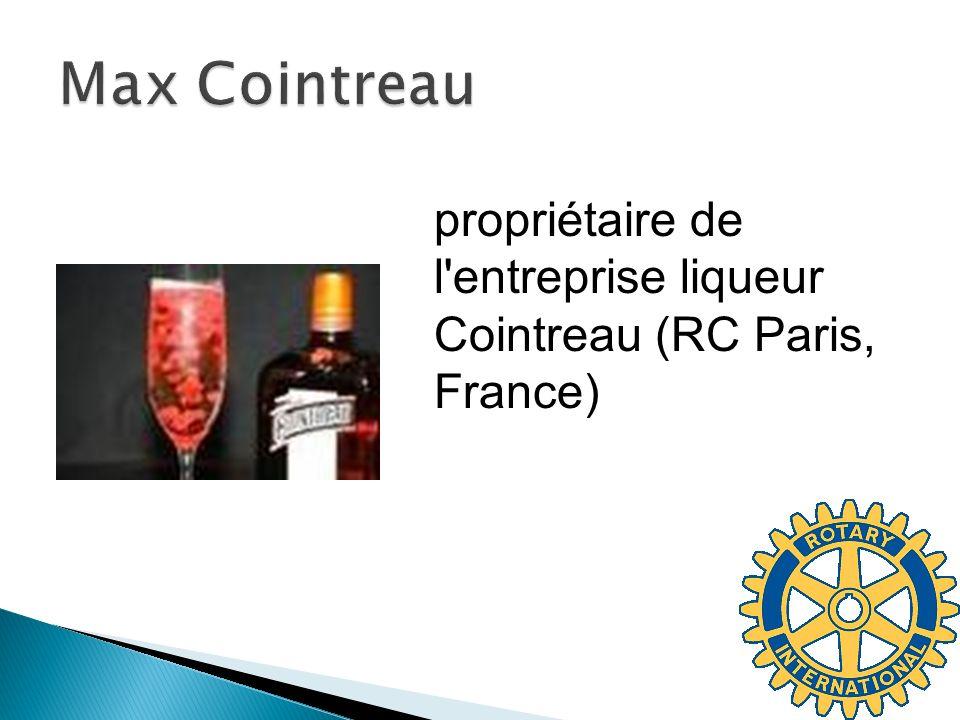 propriétaire de l entreprise liqueur Cointreau (RC Paris, France)