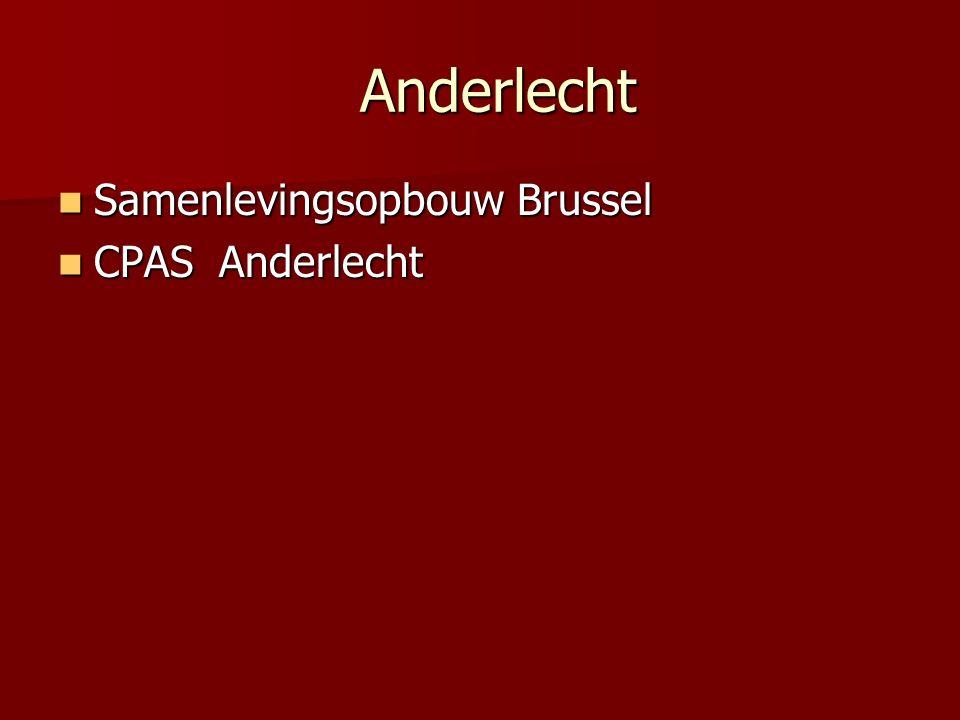 Anderlecht Anderlecht Samenlevingsopbouw Brussel Samenlevingsopbouw Brussel CPAS Anderlecht CPAS Anderlecht