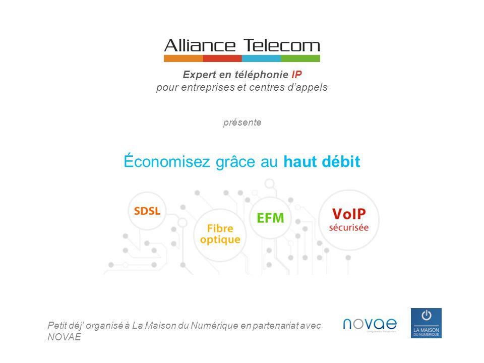 1.Présentation de la société 2.Des économies sur les lignes téléphoniques des entreprises 3.Plus de fonctionnalités grâce à la Téléphonie sur IP 4.Cas clients 5.Conclusion