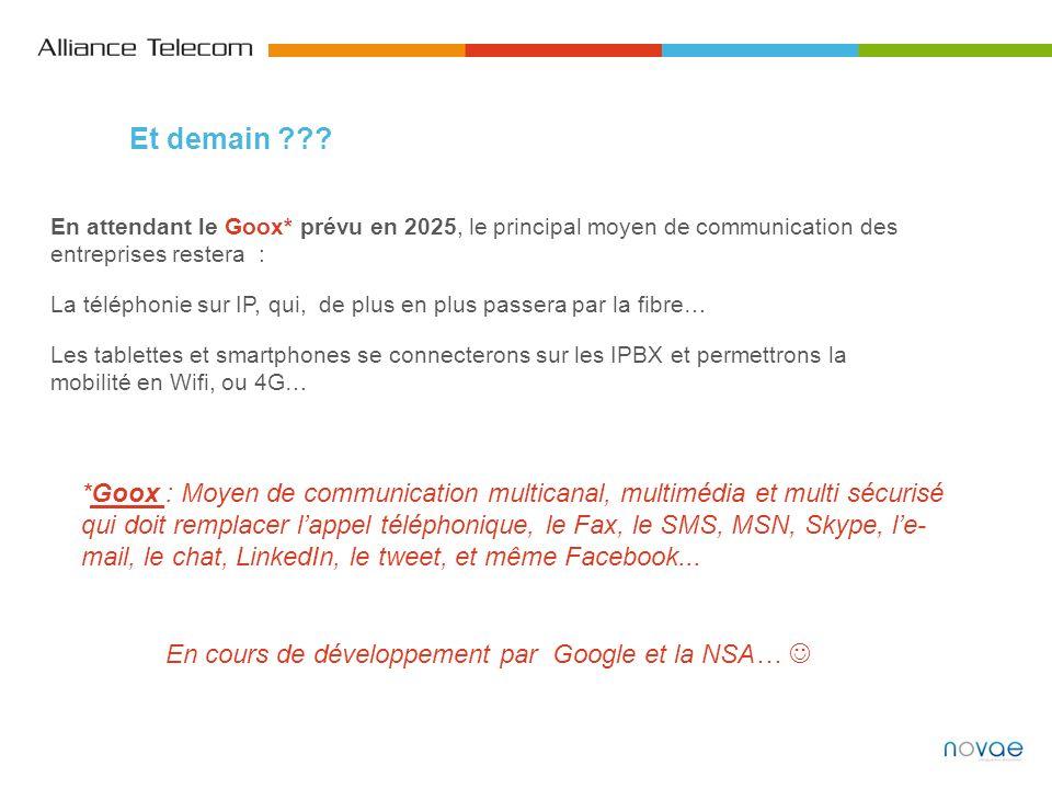 En attendant le Goox* prévu en 2025, le principal moyen de communication des entreprises restera : La téléphonie sur IP, qui, de plus en plus passera