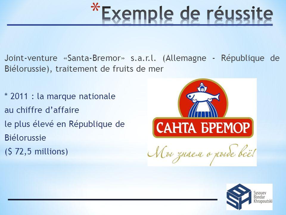 Joint-venture «Santa-Bremor» s.a.r.l.