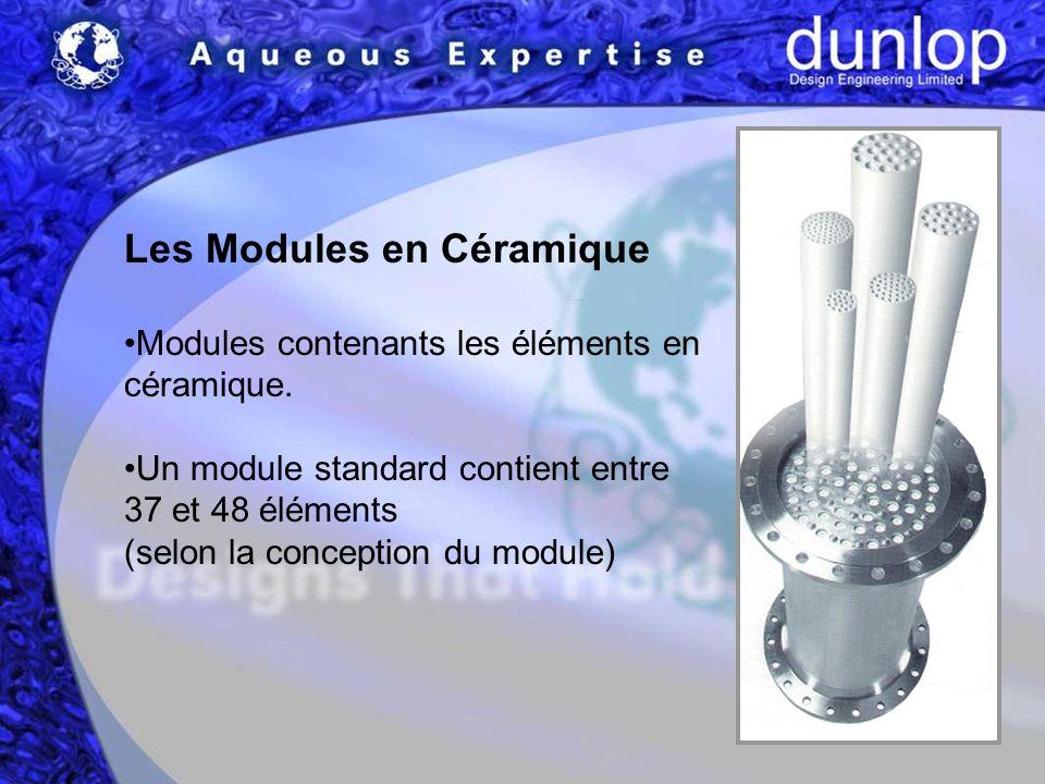 Les Modules en Céramique Modules contenants les éléments en céramique.