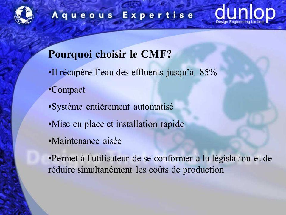 Pourquoi choisir le CMF.
