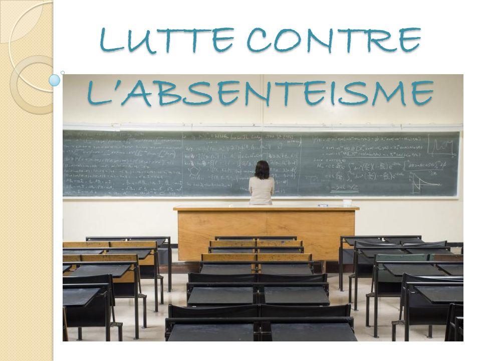 LUTTE CONTRE LABSENTEISME