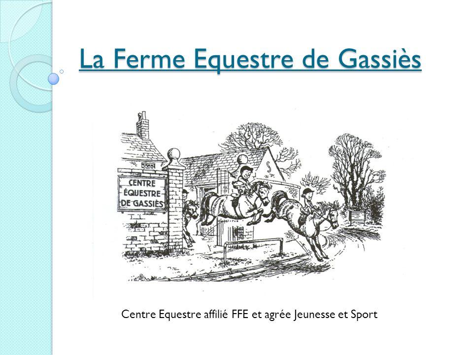 La Ferme Equestre de Gassiès Centre Equestre affilié FFE et agrée Jeunesse et Sport