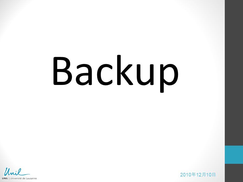 2010 12 10 Backup