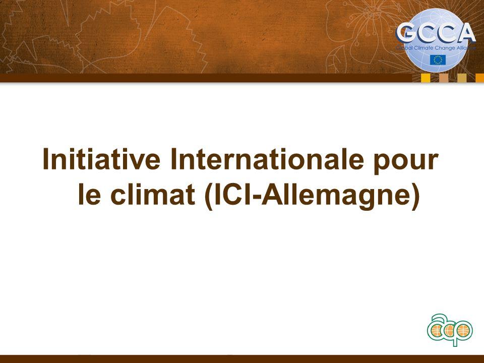 Initiative Internationale pour le climat (ICI-Allemagne)