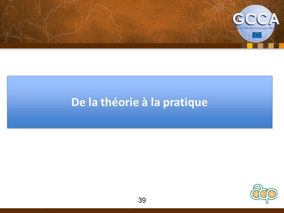 De la théorie à la pratique 39