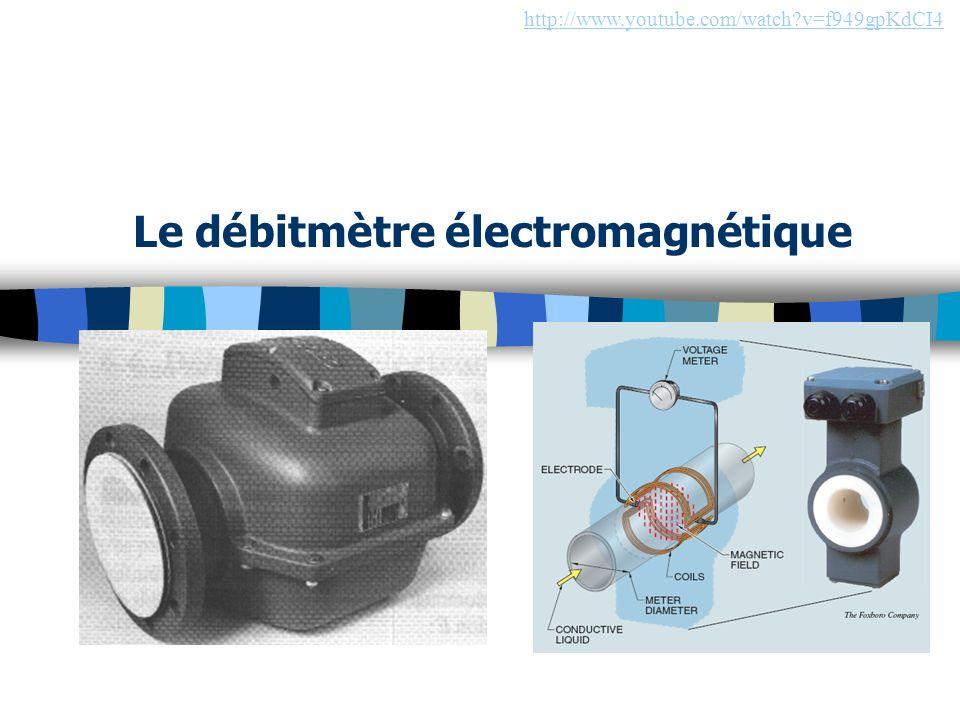 Le débitmètre électromagnétique http://www.youtube.com/watch?v=f949gpKdCI4