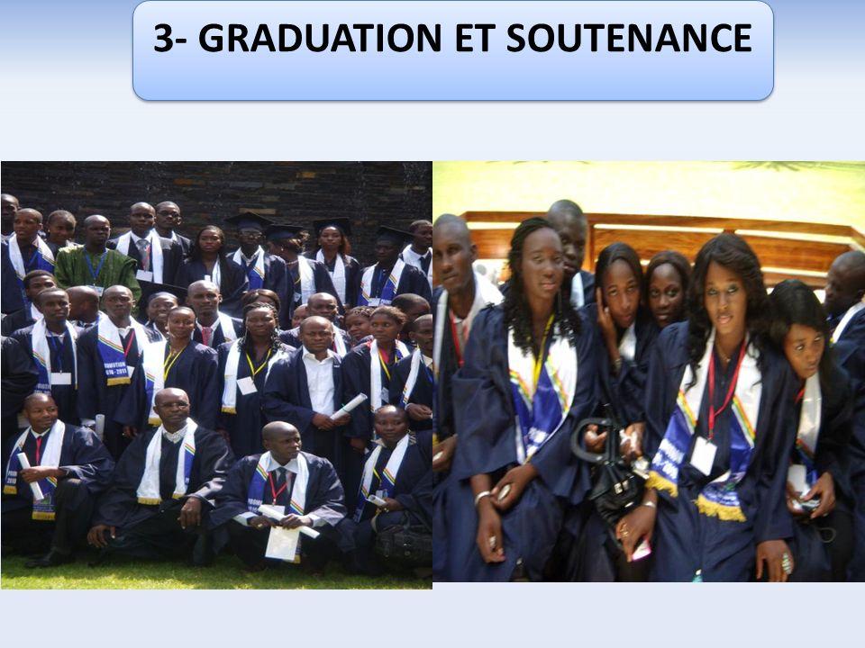 3- GRADUATION ET SOUTENANCE
