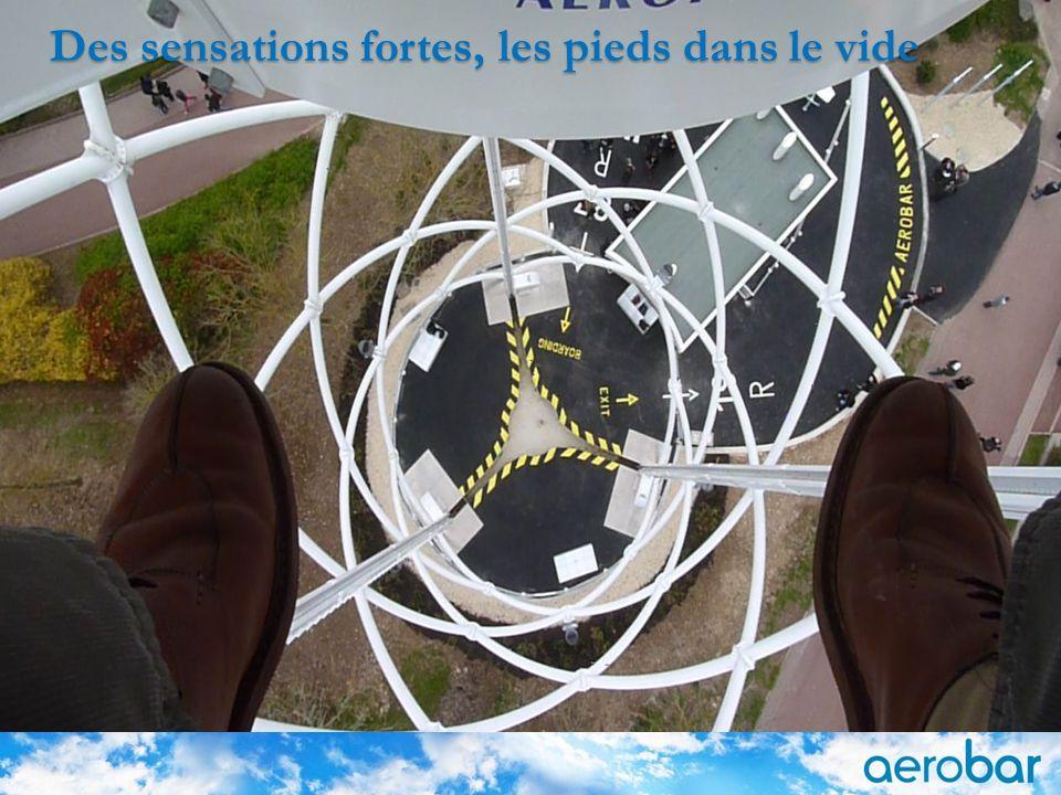 9 Des sensations fortes, les pieds dans le vide © AEROPHILE SAS - 05/17/2013 9