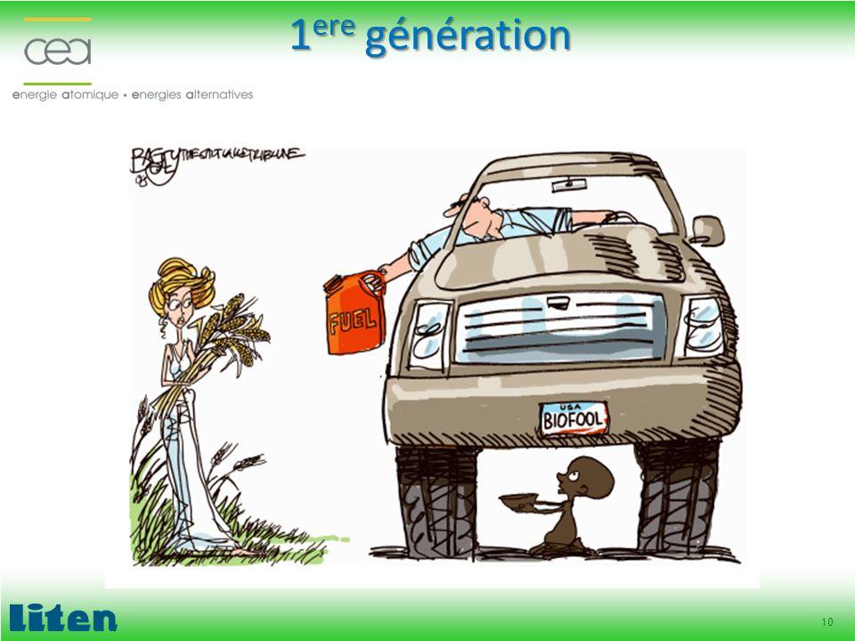 10 1 ere génération