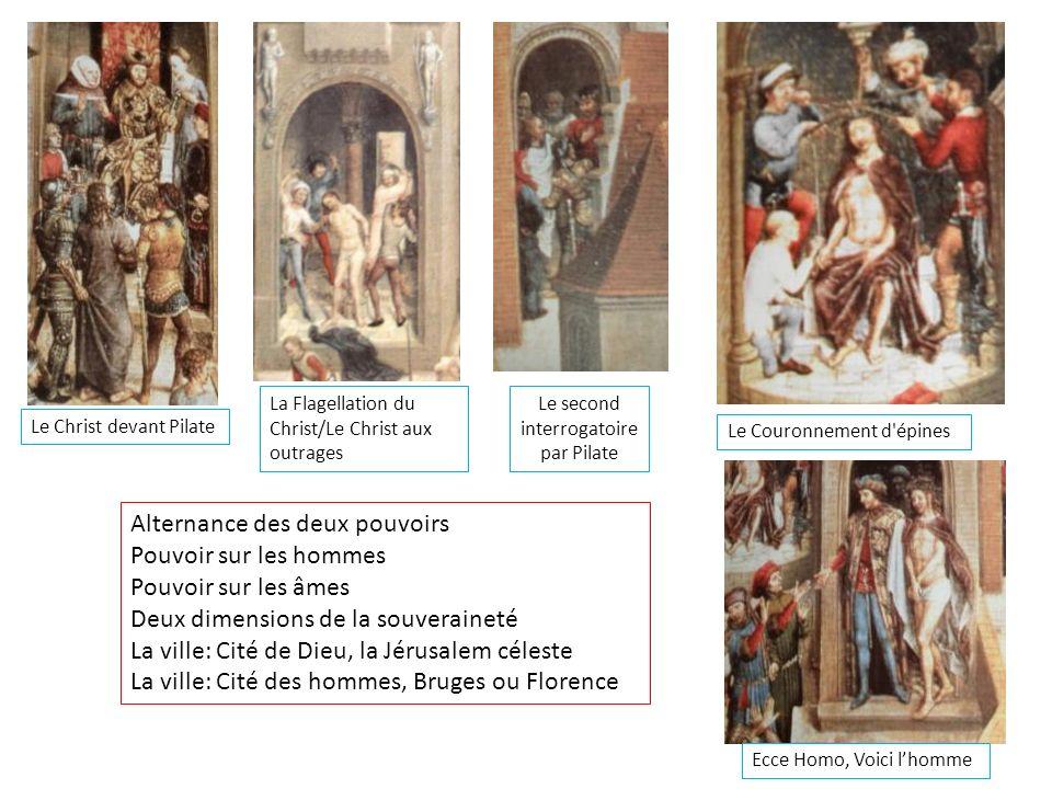 Le Christ devant Pilate La Flagellation du Christ/Le Christ aux outrages Le second interrogatoire par Pilate Le Couronnement d'épines Ecce Homo, Voici