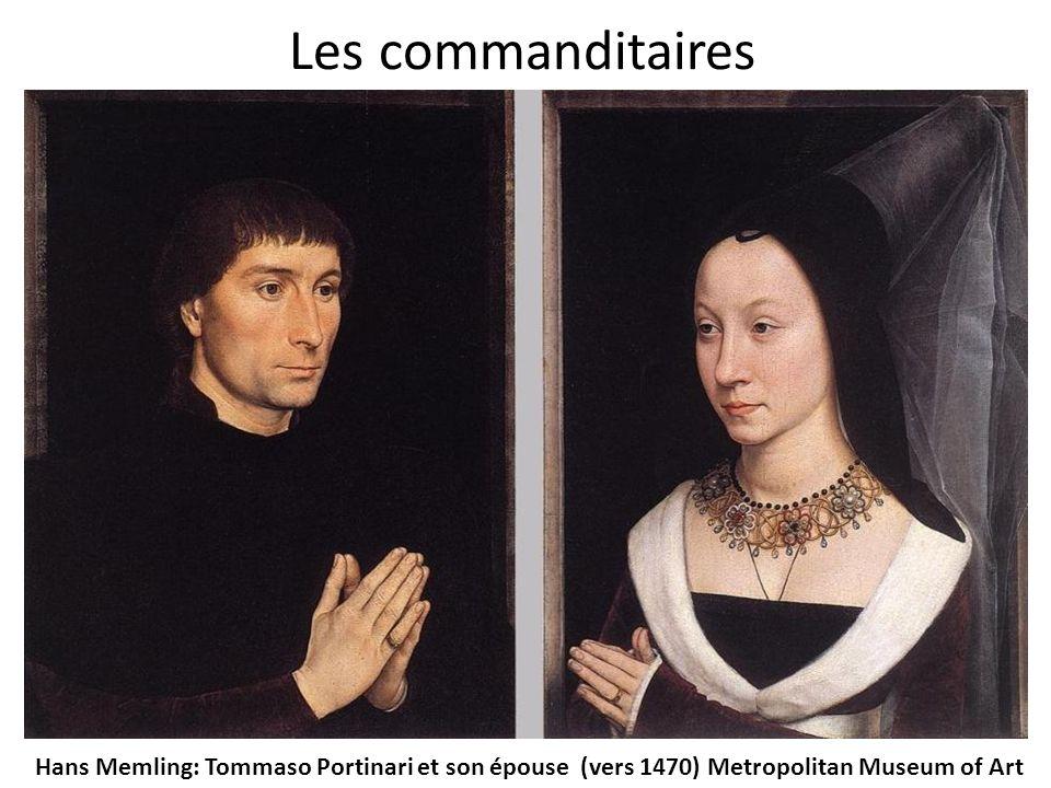 Hans Memling: Tommaso Portinari et son épouse (vers 1470) Metropolitan Museum of Art