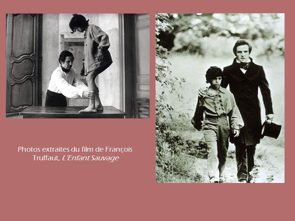 Photos extraites du film de François Truffaut, LEnfant Sauvage