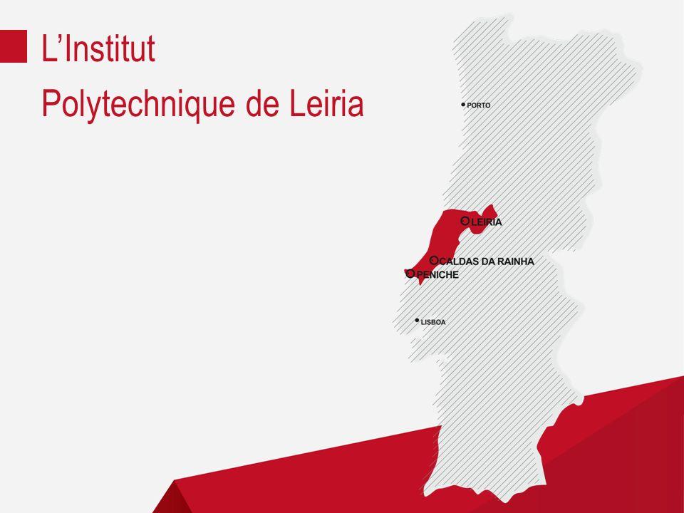 5 écoles | Différents Domaines Éducation et Sciences Sociales ESECS | Leiria Technologie et Gestion ESTG | Leiria Arts et Design ESAD.CR | Caldas da Rainha Tourisme et Technologies de la Mer ESTM | Peniche Santé ESSLEI | Leiria LInstitut Polytechnique de Leiria