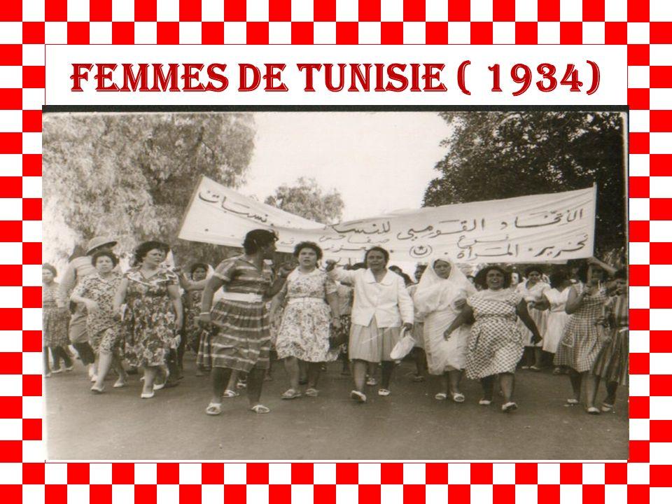 femmes de Tunisie ( 1934)