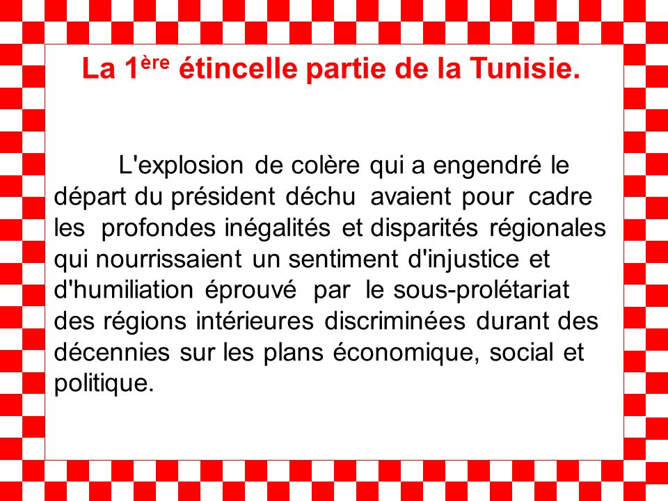 Au début du mouvement social en Tunisie, les réactions dans la rive nord med ont été marquées par un silence prudent des responsables politiques.
