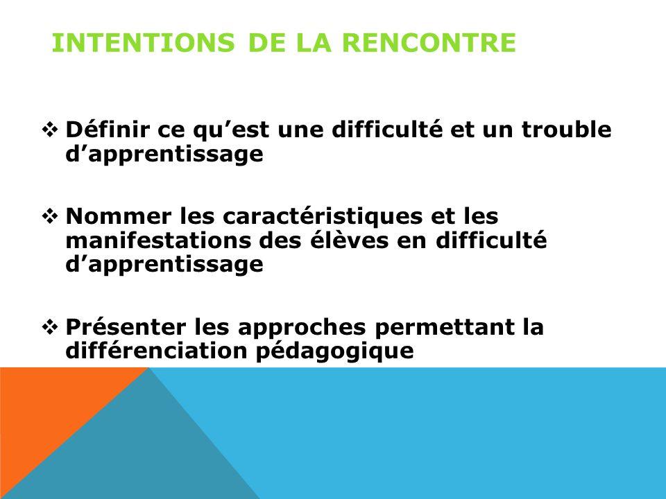 Difficultés dapprentissage et différenciation pédagogique Formation printemps 2013 Sylvie Roy, CPA Natalie Ruest, CPA