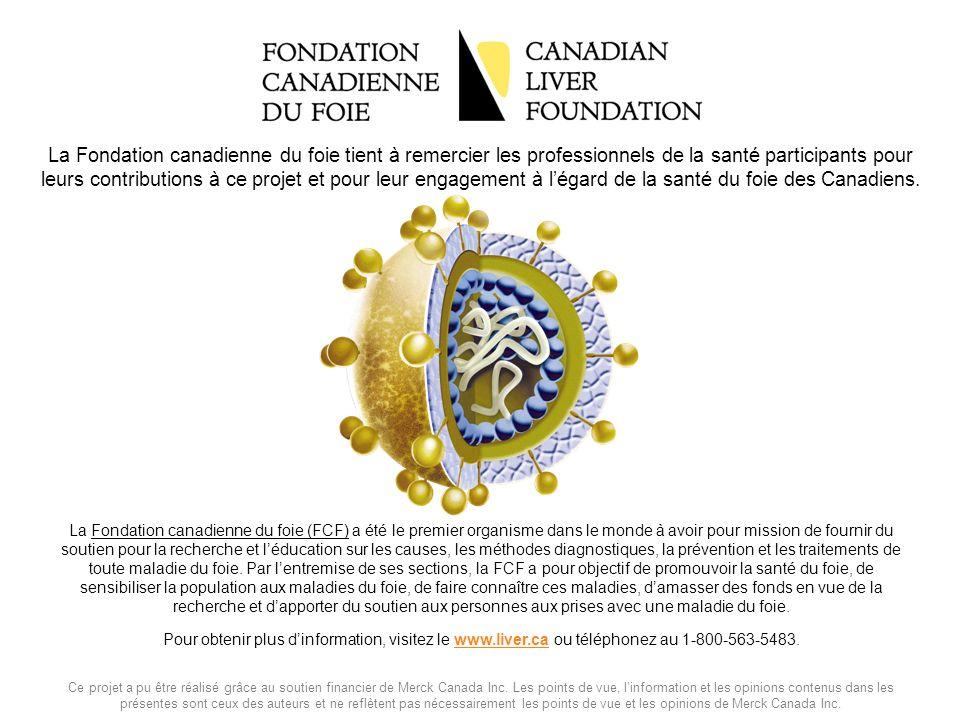 La Fondation canadienne du foie (FCF) a été le premier organisme dans le monde à avoir pour mission de fournir du soutien pour la recherche et léducat