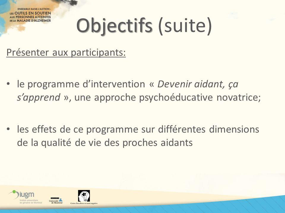 Lévaluation quantitative Lévaluation quantitative (Phase IV b) Évaluation des effets… Projet multicentrique -5 cliniques de cognition -2 régions du Québec