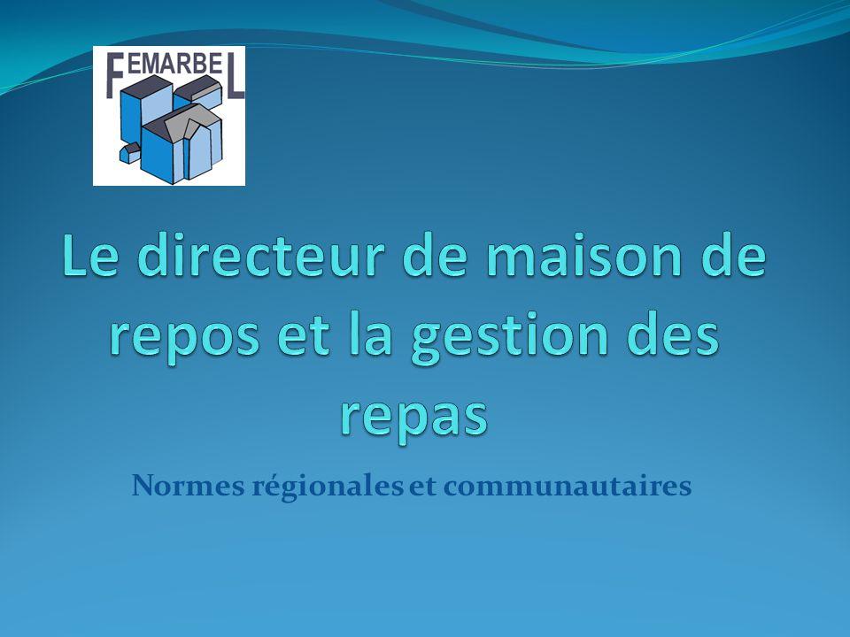 Normes régionales et communautaires
