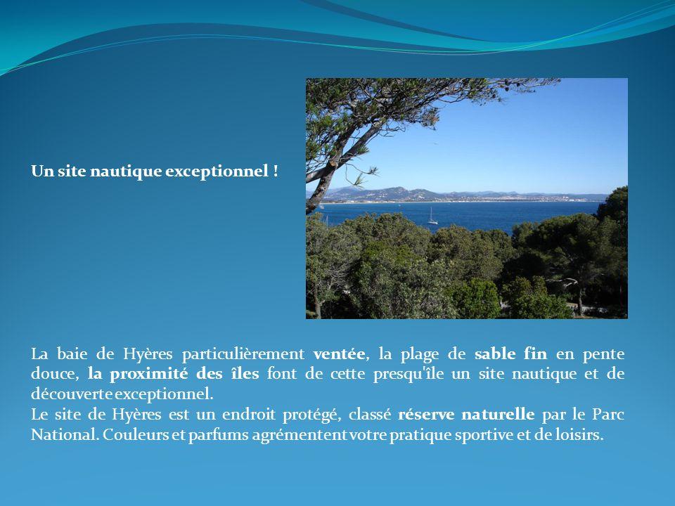 Le vent sur Hyères Presqu île de Giens 3 principaux régimes de vents sur la baie de Hyères et la presqu île de Giens : Le mistral, secteur Ouest / Nord Ouest.