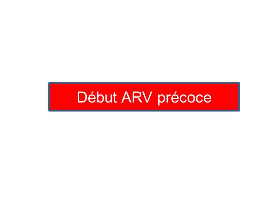 Début ARV précoce