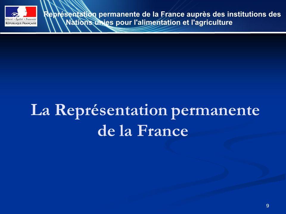 9 La Représentation permanente de la France