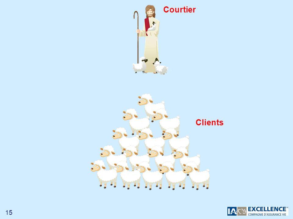 15 Clients Courtier