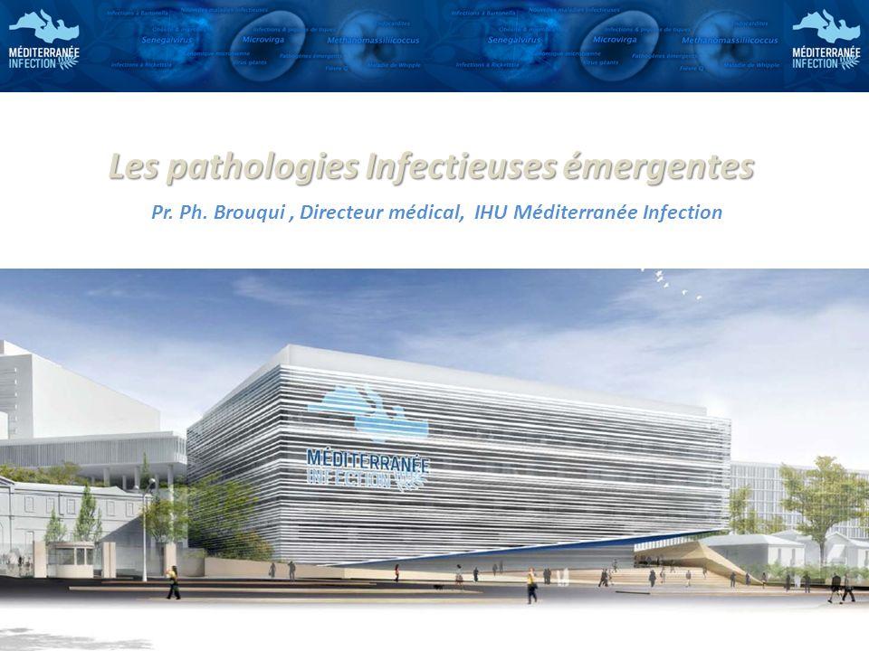 Les pathologies Infectieuses émergentes Pr. Ph. Brouqui, Directeur médical, IHU Méditerranée Infection