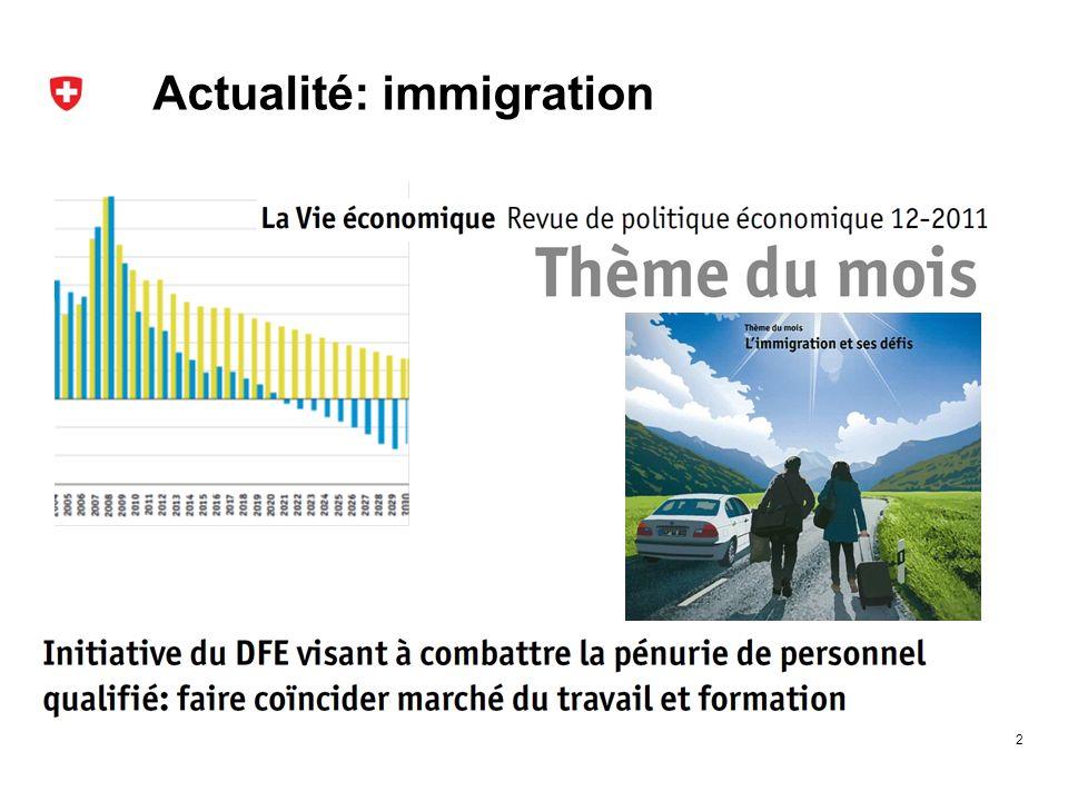 Actualité: immigration 2