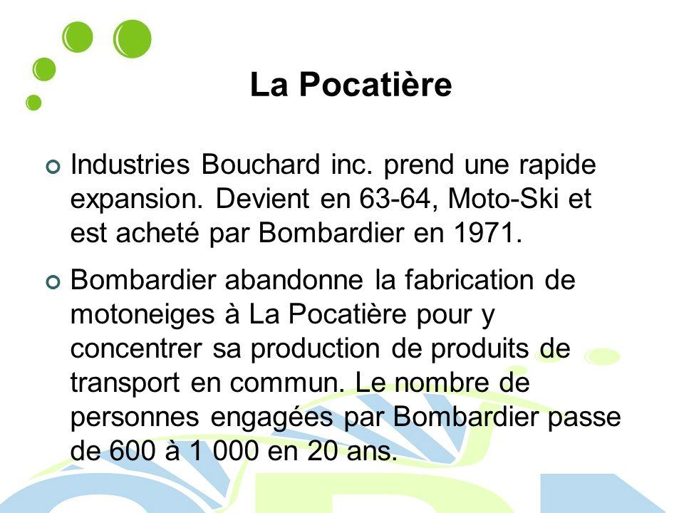 La Pocatière Industries Bouchard inc.prend une rapide expansion.
