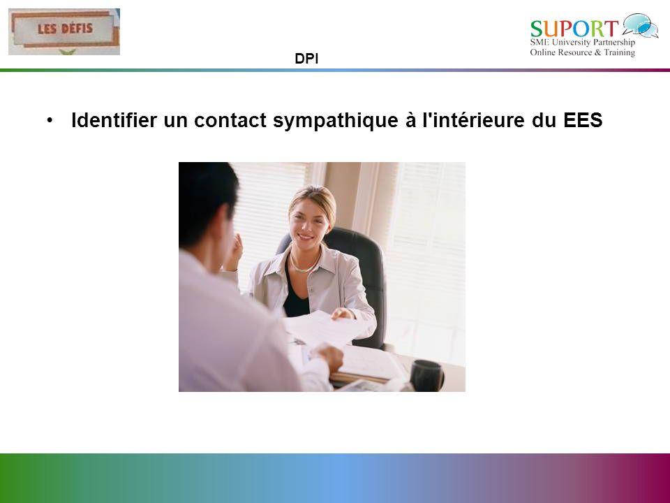 Identifier un contact sympathique à l'intérieure du EES DPI