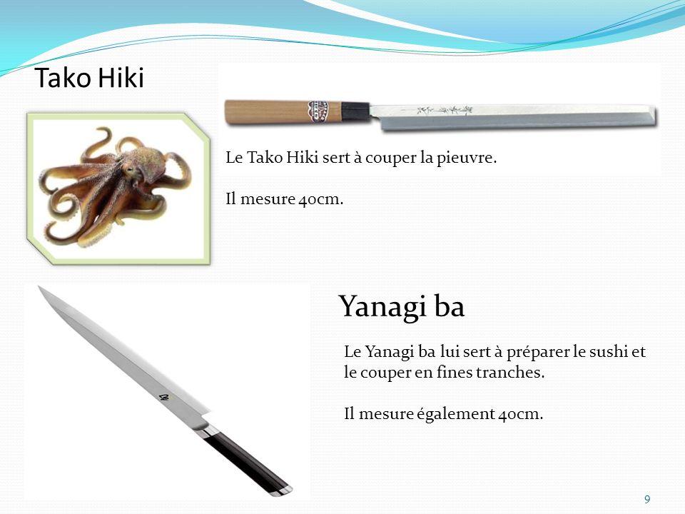 Le Unagisaki bocho sert spécialement à couper languille.